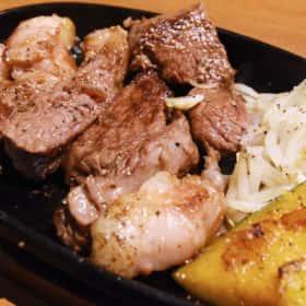 国産牛イチボ肉ステーキ