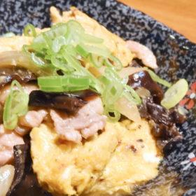 国産キクラゲと卵の中華炒め